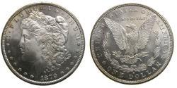 Us Coins - United States Moragan Silver Dollar 1879-S 3rd Reverse Frosty Cameo Choice BU San Francisco Mint