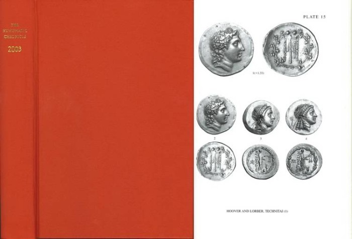 Ancient Coins - Numismatic Chronicle 2003 by Royal Numismatic Society RNS
