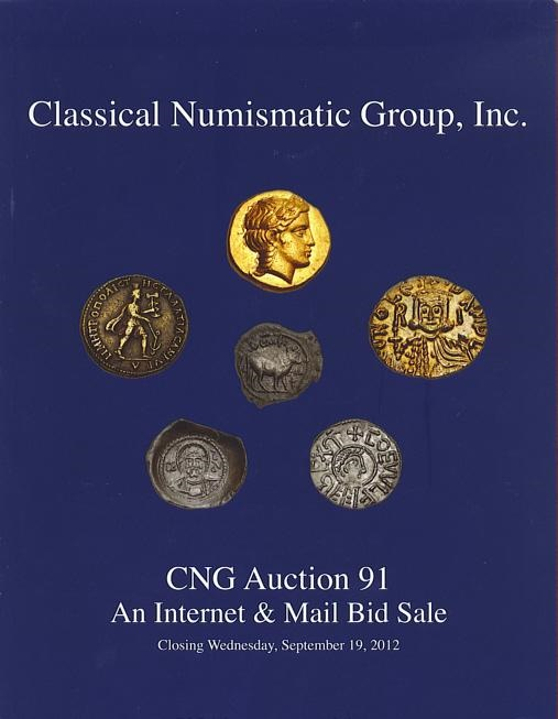 Ancient Coins - CNG Auction Sale 91 - September 19, 2012, Greek, Roman, Byzantine and Medieval Coins