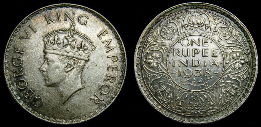 george vi king emperor coin 1938 value