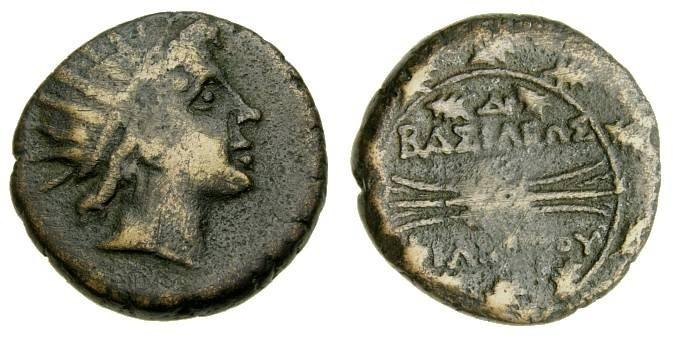 Ancient Coins - KINGS of MACEDON, Philip V. 221-179 B.C. Æ Double Unit (22 mm, 11.95 gm., 6h), Struck circa 183/2 B.C. VF