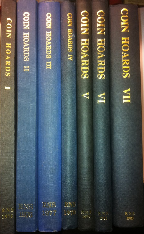 Ancient Coins - Coin Hoards Volume 1-7 Complete by RNS Royal Numismatic Society Volume 1 II III IV V VI VII