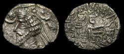 Ancient Coins - KINGS of PARTHIA, Phraatakes, Circa 2 B.C.-A.D. 4., AR Drachm (20 mm, 3.64 gm., 12h), Mithradatkart (?) mint VF