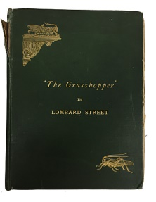 World Coins - The Grasshopper in Lombard Street by John Biddulph Martin Ex-library of Yasha L. Beresiner