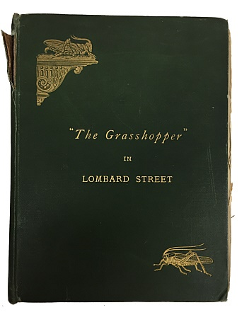 World Coins - The Grasshopper in Lombard Street by John Biddulph Martin Ex-library of Yasha L. Beresiner