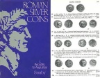Ancient Coins - Roman Silver Coins Volume I: THE REPUBLIC TO AUGUSTUS by H. A. Seaby, revised by David R. Sear and Robert Loosley Used Copy