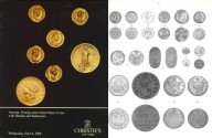 Ancient Coins - Christie's Auction - Ancient, Foreign and United States Coins with Medals and Banknotes - June 8, 1988