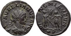 Ancient Coins - AURELIAN, 270-275, Æ Antoninianus (22 mm, 3.56 g. 7h) Siscia VF