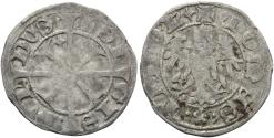 World Coins - ITALY, Merano, Sigismundus, 1439-1490, AR Grosso Tirolino (18.5 mm, 1.00 g, 8 h) Good Fine Ex Nomos