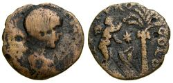 Ancient Coins - PHOENICIA, Tyre, Severus Alexander, As Caesar, A.D. 222. Æ (23 mm, 5.29 gm., 12h), F/VF Very Rare