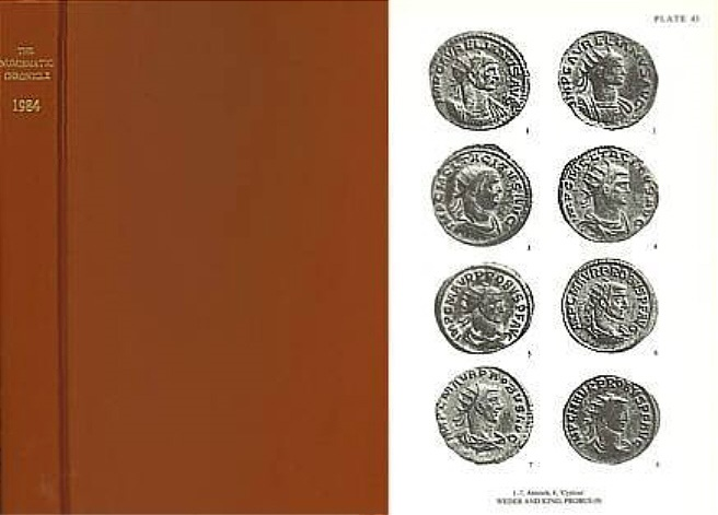 Ancient Coins - Numismatic Chronicle 1984 - Hill, Buildings and monuments of Rome on coins, A.D. 96-192. Part 1 - Levante Coinage of Adana in Cilicia - Weder / King c. The Eastern issues of Probus