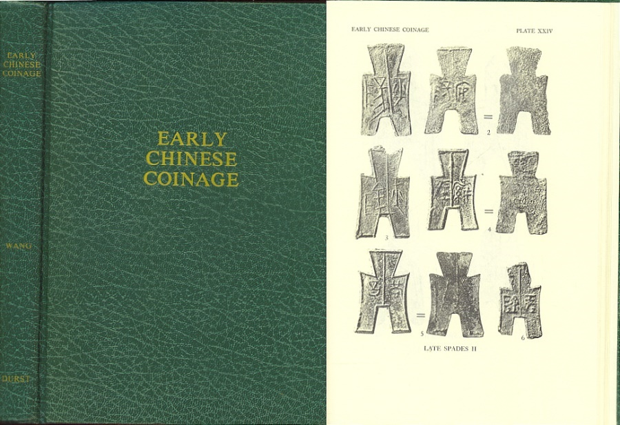 Ancient Coins - Early Chinese Coinage by Yu-Chang, Wang Yu Chuan - Durst Reprint of ANS Numismatic Notes and Monographs #122 NNM
