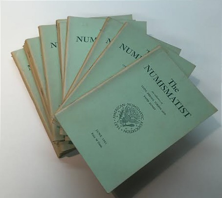 Ancient Coins - The Numismatist by The American Numismatic Association - Complete Set of 12 Monthly Issues for 1961.
