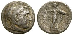 Ancient Coins - PTOLEMAIC KINGS of EGYPT, Ptolemy I Soter, As satrap, 323-305 B.C. AR Drachm (16 mm, 3.18 gm., 11h), Alexandreia mint, Struck in the name of Alexander III of Macedon, circa 310 B.C. Very Rare