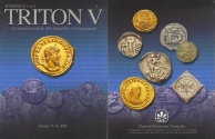 Ancient Coins - CNG - Triton V Auction Catalogue January 15-16, 2002 - Sessions 2,3 & 4 - Greek, Roman, Byzantine, Medieval and British Coins
