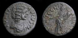 Ancient Coins - Pisidia, Antiochia, Julia Domna AD 193-211, Æ (22 mm, 5.46 g, 6h) Fine Ex Harlan Berk