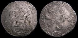 Ancient Coins - Netherlands 1642 Lion Daalder Gelders KM315.2 Good VF+ 6348