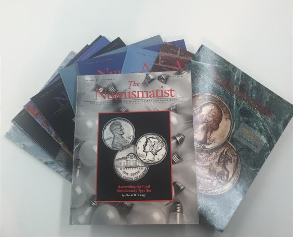 Ancient Coins - The Numismatist by The American Numismatic Association - Complete Set of 12 Monthly Issues for 1998.