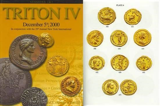 Ancient Coins - Triton IV Part I Auction Catalogue CNG FReeman & Sear, NAC