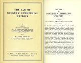 Ancient Coins - The Law of Bankers' Commercial Credits by H. C. Gutteridge and Maurice Megrah