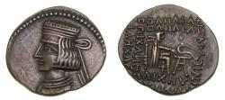 Ancient Coins - Parthian Kingdom, Pakoros I, Circa A.D. 78-120, AR drachm (20 mm, 3.53 g, 12 h), Ekbatana Good VF