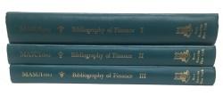 Ancient Coins - A Bibliography of Finance Volume I, II & III edited by Mitsuzo Masui