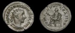 Ancient Coins - Gordian III, A.D. 238-244, AR Antoninianus (23 mm, 3.05 gm., 6h), Rome, Struck A.D. 243/244