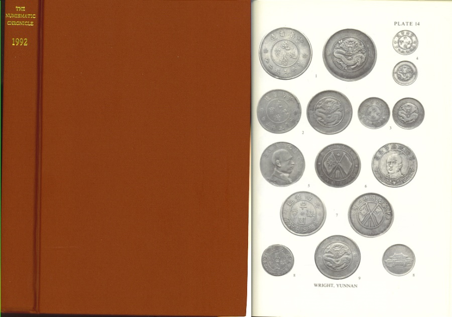 Ancient Coins - Numismatic Chronicle 1992 - Royal Numismatic Society RNS - Ashton The Pseudo-Rhodian Drachms of Mylasa