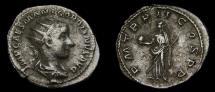 Gordian III, A.D. 238-244, AR Antoninianus (23 mm, 4.99 gm., 5h), Rome, Struck A.D. 239