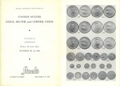 Ancient Coins - Stack's Public Auction Sale - November 30-31, 1964 - United States Gold, Silver and Copper Coins