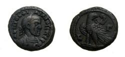 Ancient Coins - EGYPT, ALEXANDRIA, PHILIP I; I Billon Tetradrachm of Alexandria YR 3 (21 MM, 11.51 GM, 11 H) VF, Ex-CNG