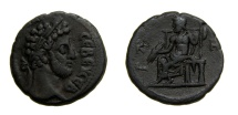 Ancient Coins - Egypt, Alexandria. Commodus (AD 177-192); Tetradrachm Year 28 (23.5 MM, 10.88 GM, 12 H) VF, Ex-CNG