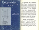 Ancient Coins - The Development of State-Chartered Banking in Texas: For Predecessor Systems until 1970 by Joseph M. Grant and Lawrence L. Crum