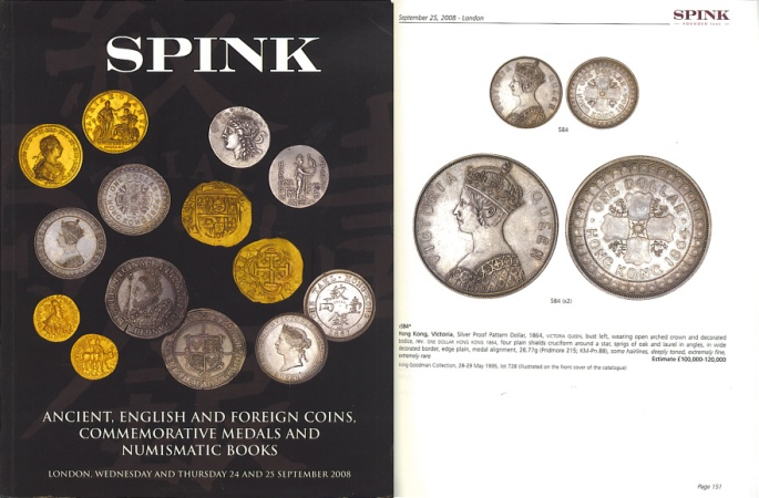 Ancient Coins - Spink Coin Auctions London - 24 & 25 September, 2008 - Ancient, English and Foreign Coins, Commemorative Medals and Numismatic Books