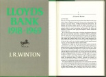 Ancient Coins - Lloyds Bank 1918 - 1969 by J.R.Winton