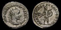 Gordian III, A.D. 238-244, AR Antoninianus (23 mm, 3.89 gm., 6h), Rome, Struck A.D. 243/244