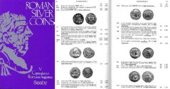 Ancient Coins - Roman Silver Coins, Volume V: Carausius to Romulus Augustus by SEAR, D.R. & KING, C.E.