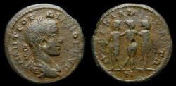 Ancient Coins - MOESIA INFERIOR, Marcianopolis, Gordian III 238-244 AD, Æ (22 mm, 6.94g, 1 h) VF Three Graces Ex CNG