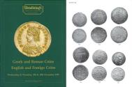Ancient Coins - Glendining's - Greek and Roman Coins - English and Foreign Coins - December 9-10, 1987