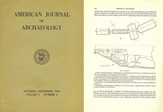 Ancient Coins - American Journal of Archaeology: October-December, 1946 - Volume L (50), Number 4 - A Tomb of Necropolis of Ayios Ermoyenis at Kourion by George H. McFadden