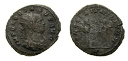 Ancient Coins - Florian, A.D. 276, Antoninianus (23 mm, 3.35 gm., 6h), Cyzicus mint Fine