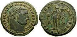 Ancient Coins - Maximinus II as Augustus, A.D.  309-313, Æ Follis (25 mm, 7.69 gm., 12h), Alexandria mint, Struck A.D. 309-310 Near EF