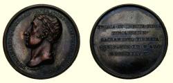 World Coins - AUSTRIA, TYROL FERDINAND I 1838 MEDAL Signed by F. Putinati - SCARCE - AU