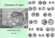 Ancient Coins - Freeman & Sear, Fixed Price List #6, Summer 2001