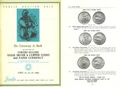 Ancient Coins - Stack's - Dr Conway A. Bolt Collection of United States Gold, Silver & Copper Coins and Paper Currency - April 21-23, 1966