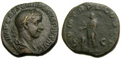 Ancient Coins - Gordian III, A.D. 238-244, Æ Sestertius (28 mm, 18.69 gm., 11h), Rome mint, A.D. 239 aVF George His Collection