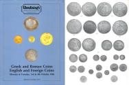 Ancient Coins - Glendining's - October 3-4, 1988 - Greek and Roman Coins - English and Foreign Coins