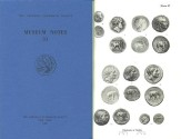 Ancient Coins - Museum Notes of The American Numismatic Society - Volume 31 (1986)