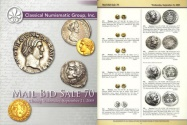 Ancient Coins - Classical Numismatic Group CNG 70 - September 21, 2005 - Greek, Roman, Byzantine Coins