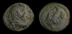 Ancient Coins - MOESIA INFERIOR, Marcianopolis, Septimius Severus, AD 193-211, Æ 26 mm (10.22 gm., 6h). L. Julius Faustinianus, consular legate. Struck circa AD 207-210 VF